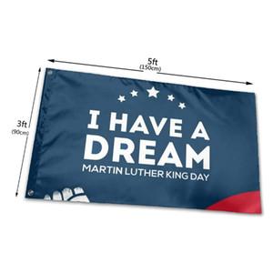 Eu tenho uma bandeiras de bandeiras de sonhos 3x5ft 100d poliéster design quente 150x90cm transporte rápido vívido cor com dois gromes de latão