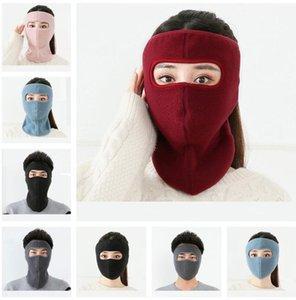 Kış Polar Polar Yetişkin Facekini Yürüyüş Spor Beanie Kayak Bisiklet Motosiklet Şapkalar Eşarp F101602 Maske Tek Parça Full Yüz Maskeleri Maske