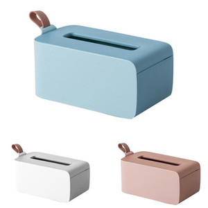 Tissue Box Seal Baby Wipes Paper Storage Box Dispenser Holder Household Plastic Dust-Proof Tissue with Lid