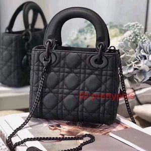 Ultra Matte Black Luxury Popular Fashion Designer Genuine Leather Shoulder Handbags Purses Bag Women Handbags Crossbody Bags