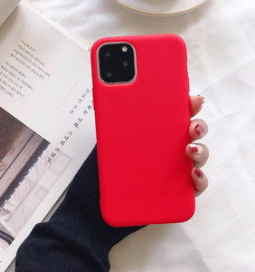 2021 DZ78 Fashion Protective Gear Ultra Thin Cheap Candy Colors Phone Silicone Case For iphone 12 Mini 11 Pro Max XS MAX XR X 6S 7 8 plus