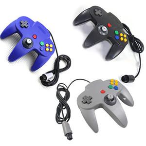 5 Color Mat Lever Maniglia controller per Nintendo Games Long Dal momento che 64 N64 Sistema di cavo console Games
