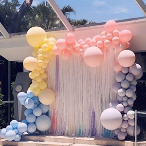 10pcs 10 Inch Latex Balloons Wedding Decoration Baby Shower Kid Happy Birthday Party Decor Bridal Shower Balloon Pink Rose Blue qylccP