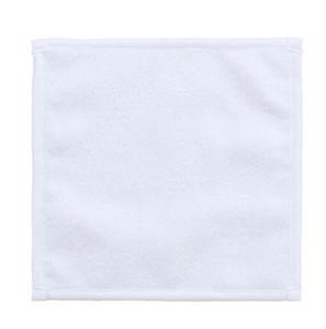 Toalla de sublimación Poliéster Algodón 30 * 30 cm Toalla en blanco Toalla cuadrada blanca DIY Impresión DIY Home Hotel Toallas Toallas de mano suaves GWC5572