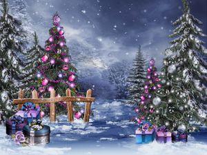 JMINE Div 5D Christmas Tree Winter Snow Full Diamond Painting cross stitch kits art High Quality xmas 3D paint by diamonds
