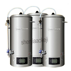 30L Commercial Beer Mash kitchen equipment Household brewing machine Homebrew beer device 220v 2500w 1pc1