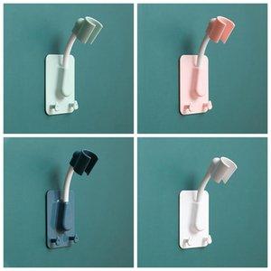 Não-perfuração cabeça de chuveiro fixo Suspensão assento Sprinkler ajustável Suculta titular chuveiro cabeça banheiro chuveiro acessórios hwb4347