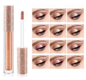 Makeup Single Shimmer Liquid Eye Shadow DazzleShadow Liquid Glitter Sequins Brighten Eyeshadow Easy to Use Beginning Cosmetic