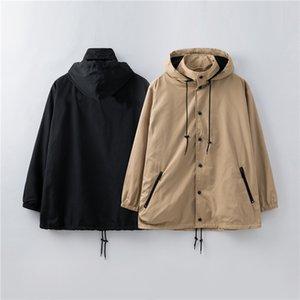 20ss nuove giacche da uomo donna modello designer di abbigliamento di lusso degli uomini di moda inverno classico s felpa con cappuccio strati sottili a vento