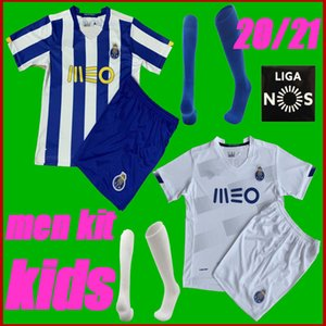 20 21 Porto fc retro soccer jersey PEPE ABOUBAKAR football jerseys NAKAJIMA ALEX TELLES 2020 Futebol Clube do Porto men+kids kit uniform