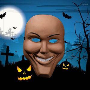Топаты Хэллоуинские маски для очистки Бога Ужас одеваются бар Party Party Show Haunted House Room Props1