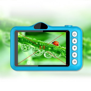 Child Digital 3.5 inch Cute Cartoon Toys Children Birthday Gift 12MP 1080P Photo Video Camera For Kids 201214