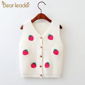 Bärleiter Mädchen Pullover Neue Herbst Weiche Mädchen Jacke Pullover Cartoon Muster Panda Kinder Kleidung Warme Kinder Kleidung