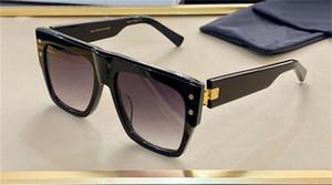 Nouveaux Sunglasses de design de mode BPS-100 Cadre d'épaisseur carré Cadre de style simple et généreux UV400 Verres de protection UV400