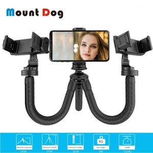 Mountdog Mini Flexible Tripod for Go Pro 7 6 5 액션 카메라 여행 삼각대 전화 스탠드 1