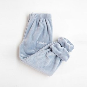 Fairy warm pants lazy trousers home pants coral fleece Sleep Bottoms women's thickened flannel loose autumn and winter wearSK001
