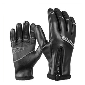 Hihg Quality Winter Warm Wateproof Windproof Snowproof Touchscreen Full Finger Reflective Gloves For Motorbike Hunting Motorcycle