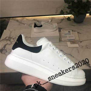 Top Quality Black Velvet delle donne degli uomini Chaussures Shoe Bella piattaforma scarpe da tennis casuali dei pattini di cuoio di colori solidi Abito scarpe Size 35-46