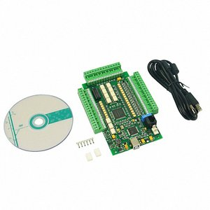CNC 라우터 3 축 4axis AnVW 번호 MACH3 CNC USB 모션 카드 컨트롤러 브레이크 아웃 보드