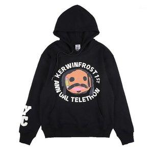 Alphagy CPFM Графический принт Повседневная с длинным рукавом Harajuku Tshirt Мужчины Уличная одежда Хип-хоп Винтаж Оригинальный Свитер с капюшоном1