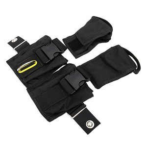 Bolsa de pesas de buceo Bolsa de plomo Rellenar bolsillos de almacenamiento Bolsa de buceo técnico compacto