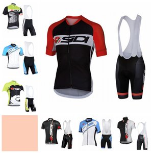 SIDI team Pro Cycling Short Sleeves jersey bib shorts sets mens bicycle clothing MTB Racing clothing Mountain bike Ropa Ciclismo 102402