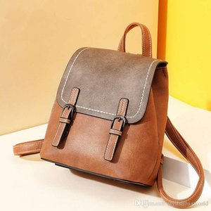 Design Backpack Women's British Style Fashion Retro Backpack Women Korean Version High Quality Natural Travel Bag Gift Wholesale 8011