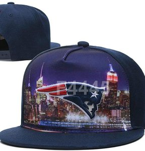 2020 New Arrival New England hat Team Fans's Snapback Hat Brand Popular Hip Hop Adjustable Cap Flat Bill With Special Printed Visor a5