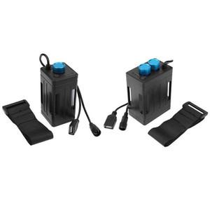 6x18650 Batterie Pack Case Power Bank Box für Fahrradlicht Handy Fahrradlichter Zubehör