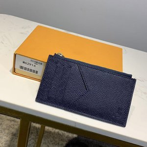 L0U15 VÙ1TT0N 2020 M62914 M64038 hot sell Genuine leather women men Key Wallets Coin Purses wallet holders Suit clip Card bag handbag