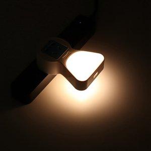 Плагин ночной светильник датчик движения датчик USB AC100-240V выпускной мультифункциональный датчик сокета ночной светлый / теплый белый