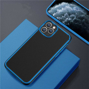 New Classic Phone Case For iPhone 12 11Pro X XS Max 8 7 Plus Camera Protection Case luxury anti fall phone backe cover