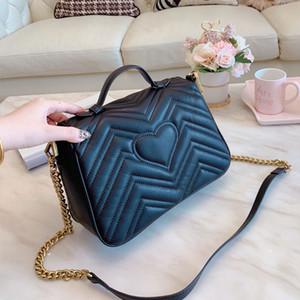 Bolsas de ombro das mulheres Cruz do coração corpo em forma Bolsa Bandoleira saco bolsas bolsas de couro genuíno saco sacos de alta qualidade Mais Populares