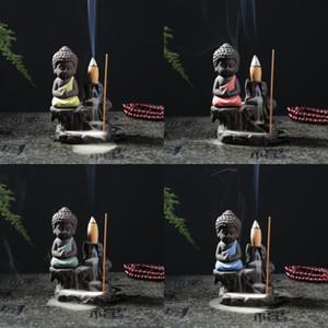 Mor Kum Buda Aromaterapi Fırın Seramik Geriakış Dağları Ve Nehirler tütsü brülör Ev Mobilya Ofis Süsler 10hs J2