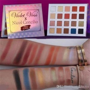 NEW Makeup Violet Voss X Nicol Concilio Pro Eye Shadow Palette 20 color eyeshadow palette DHL shipping A08