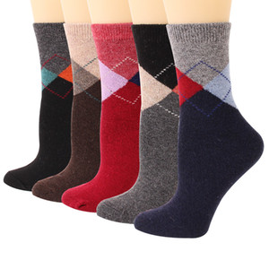 Womens Wool Socks Super Thick Heavy Thermal Fuzzy Winter Warm Crew Cold Weather Casual Socks