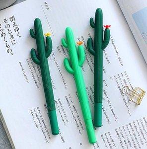 0 .5mm Siyah Mürekkep Kalem Meksika Cactus Jel Kalem İçin Öğrenci Ofisi Okul Kalemler