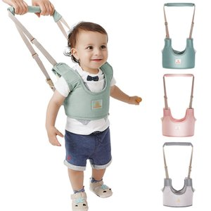 Baby Walker Toddler Harness Assistant Backpack Leash Kids Walking Learning Belt Breathable Cotton Fabric Child Safety Reins