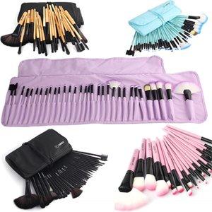 VANDER Soft Makeup Brushes Set 32 PCS Multi-Color Maquillage Beauty Brushes Best Gift Kabuki Pinceaux Brush Set Kit + Pouch Bag 201007