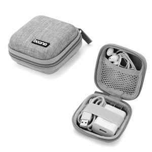 1 шт. Mini для наушников для наушников Сумка портативные наушники-наушники COOX хранение для карты памяти гарнитура USB кабельное зарядное устройство Организатор