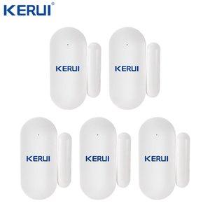 نافذة الباب KERUI لاسلكية صغيرة مايكرو الصغيرة استشعار الباب الأمن الرئيسية الاستشعار للكشف عن مكافحة العبث لGSM نظام انذار WIFI