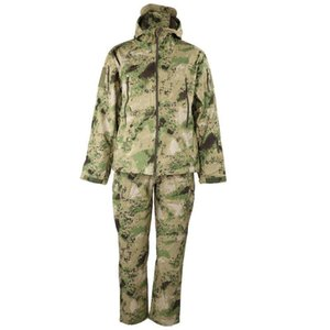 Camouflage suit Camouflage Camo Jacket Shirt Pants suit for outdoor activities