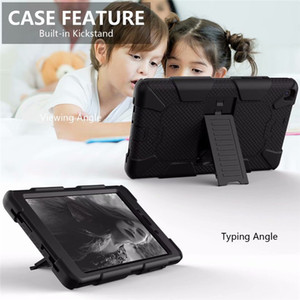 Kids Safe Heavy Duty Armor Silicone Case Cover for Samsung Tab A T590 T387 T515 T510 P200 P205 T290 T295 S4 T830 S5E T720 T725