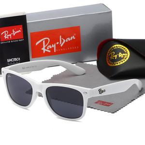 2020 고품질의 새로운레이남성 여성 선글라스 빈티지 파일럿 브랜드 태양 안경 밴드 UV400금지벤 선글라스 상자 2140
