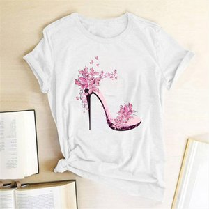 Harajuku Fashion Tee Girlfriends Tees Graphic Print Girls Cute Slim Fit Summer Tshirts Gift Tees T Shirt 2020 Tops For Women Mealk