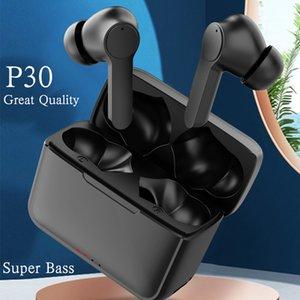 TWS Wireless Headphones 5.1 True Bluetooth Earbuds IPX5 Waterproof Sports Earpiece 3D Stereo Sound Earphones with Charging Box
