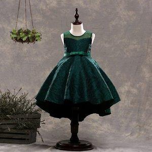 Новые девушки сс платье руно девушки вечернее платье без рукавов Пианино костюм лето Детский жаккардовый платье