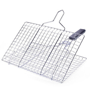 Grilled Fish Nets clips Barbecue Nets Barbecue Net Clips Stainless Steel bbq mat Accessories free shipping