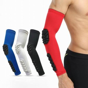 1 Pc Basketball Elbow Arm Guard Elbow Sleeve for Cycling Running Baseball Breathable Anti-Collision Sports Protector