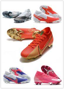 جديد mercurial superfly vii 7 360 النخبة se fg rosa panther cr100 cr7 ronaldo neymar رجل بنين لكرة القدم الأحذية كرة القدم الأحذية المرابط